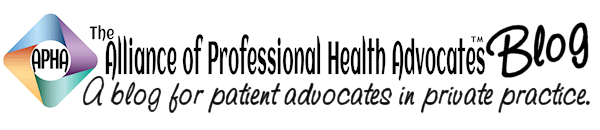 The Blog of The Alliance of Professional Health Advocates
