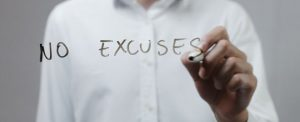 image - no excuses