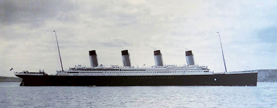 The Titanic - from wikipedia